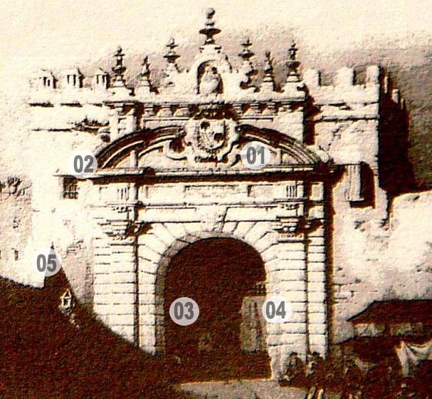 La muralla de la puerta de carmona sevillanadas sevilla - Puerta de sevilla carmona ...