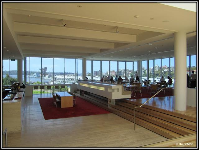 Art Gallery of New South Wales Sydney café