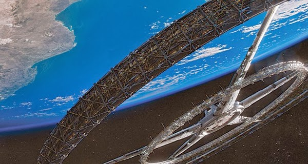 Elysium's space vessel for the rich and Jodie Foster