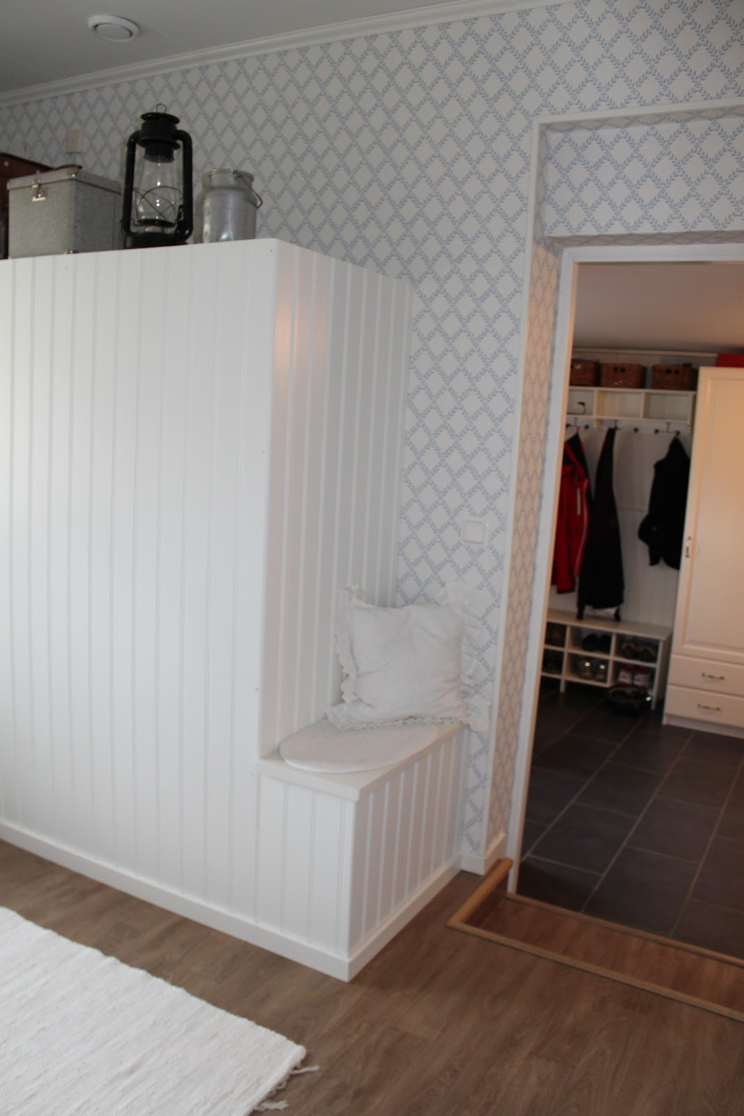 Små stunder av lycka: tvättstuga som blev till arbetsrum