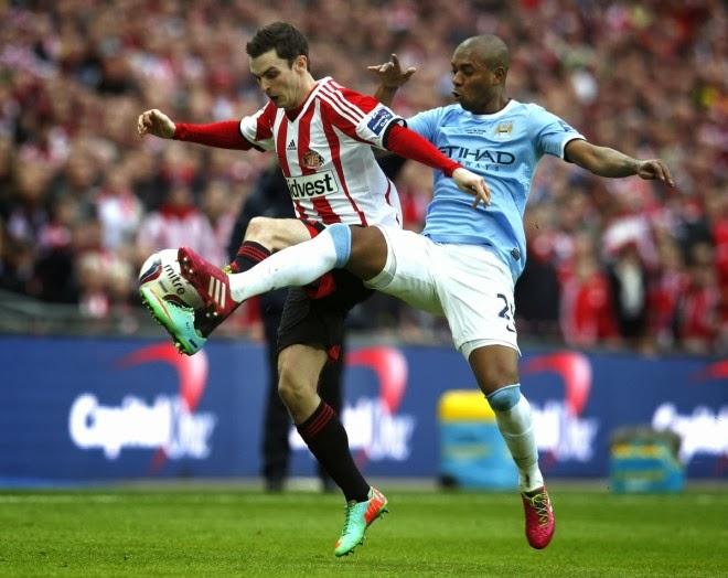 Hasil Final Piala Liga Inggris Manchester City vs Sunderland 3-1