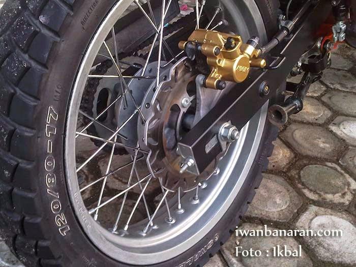 Modifikasi Honda CB150R Velg Jari-Jari Terbaru