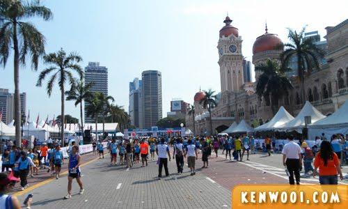 kl marathon 2012 dataran merdeka