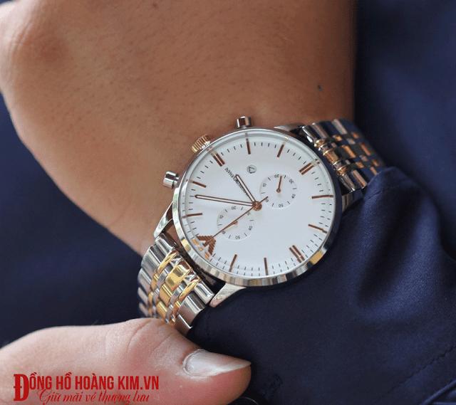 Đồng hồ nam chính hãng tại Cầu Giấy nhãn hàng Armani