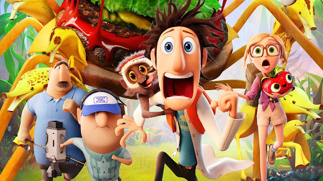 2013 cloudy with a chance of meatballs 2 movie wallpapers HD