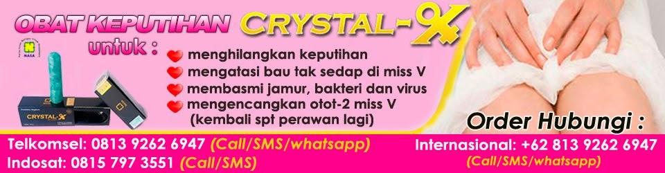 CRISTAL X Obat Keputihan | PT NASA Yogyakarta