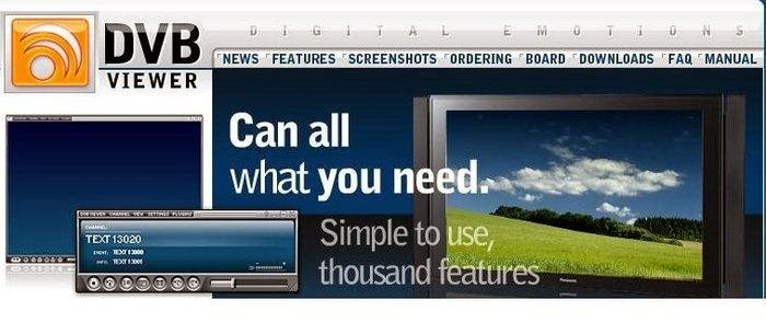 Dvbviewer pro 541 version, was presented to the benefit of