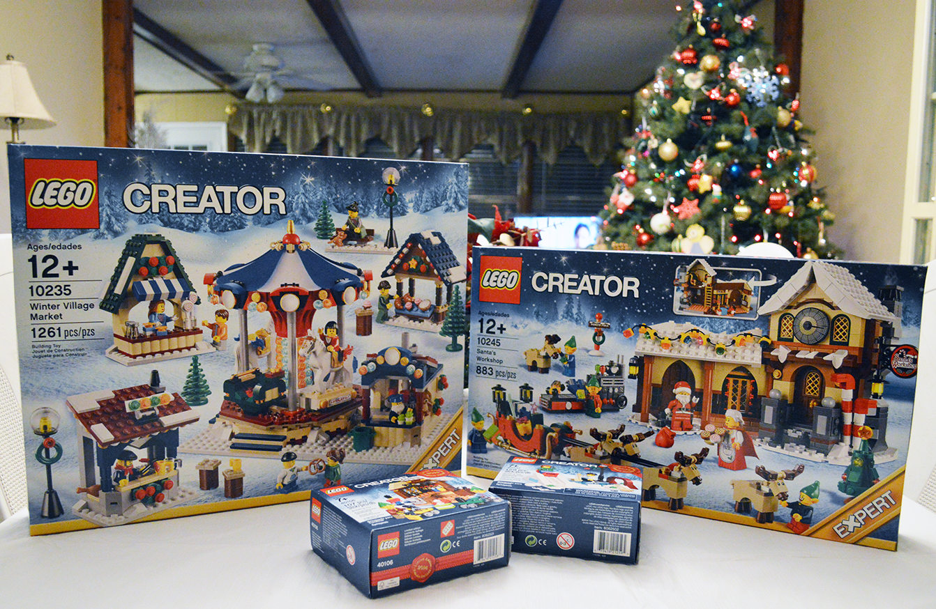 throughout the month of december ill also be posting reviews for the christmaswinter themed lego sets ive picked up for this year