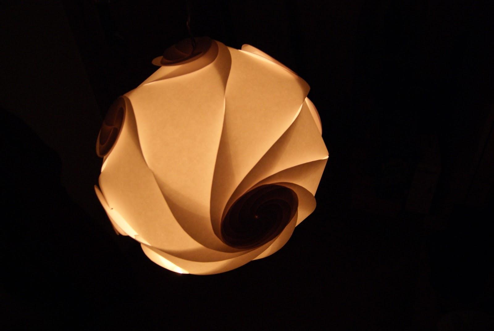 Wildres meine lampen for Lampen papier
