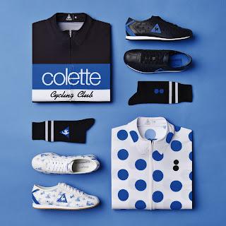 boutique, Colette, Le Coq Sportif, sports, sportstyle, sportwear, Tour de Francia,