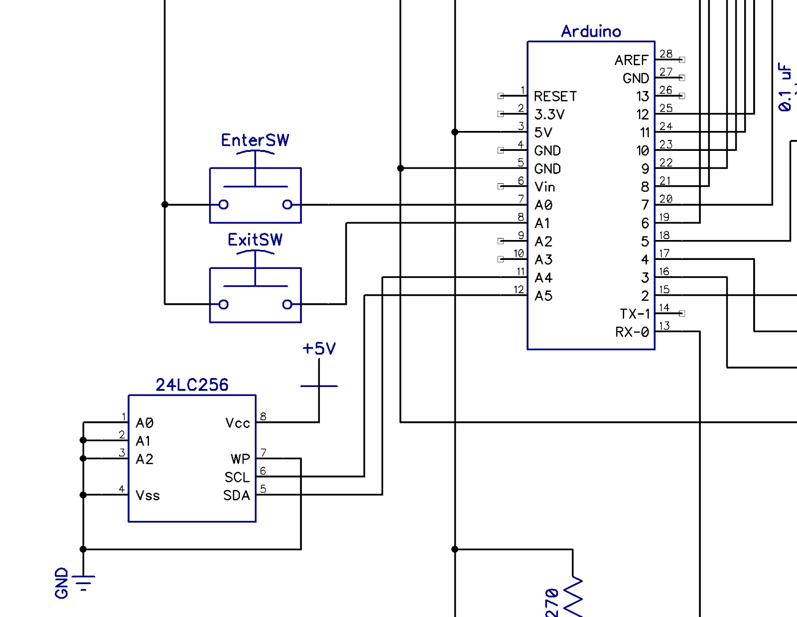 Arduino write unsigned long to eeprom
