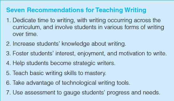 AAC Girls: 7 Recommendations for Teaching Writing