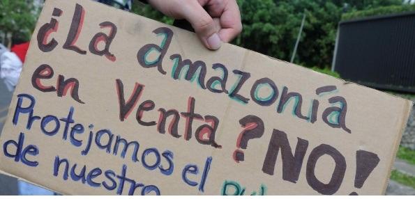 ¡Por la Amazonía!