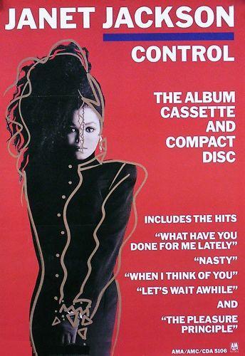 Control Janet Jackson Album Cover Janet jackson album promo