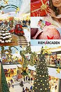 Die Weihnachtswelt in den Riem Arcaden bietet Aktionen + Angebote für das Weihnachtsfest