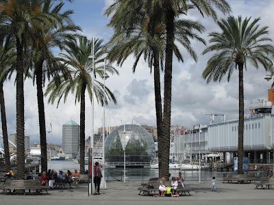 La Bolla di Renzo Piano; Porto Antico Genoa