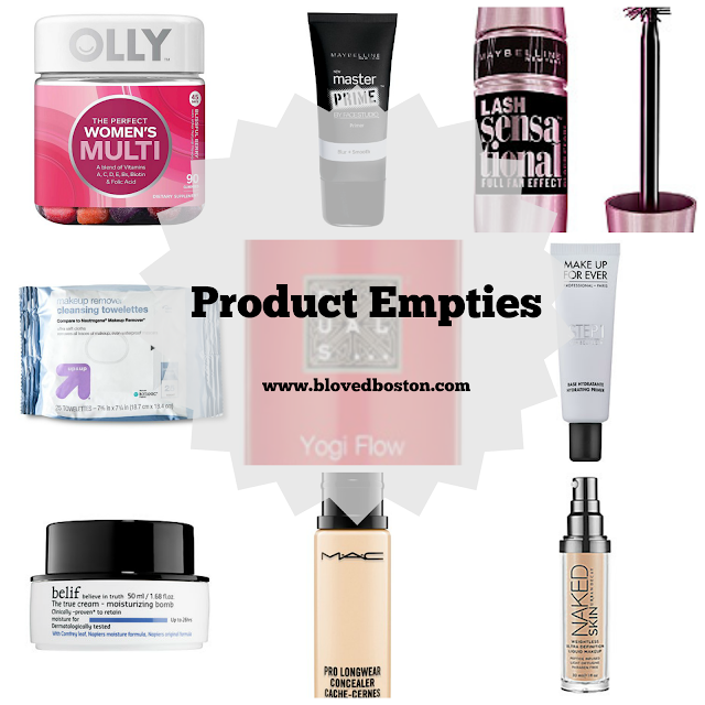 Products that have been used up