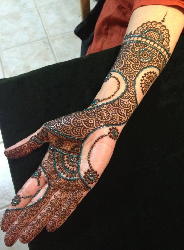 Easy Mehndi Design Decent Girl Fashion