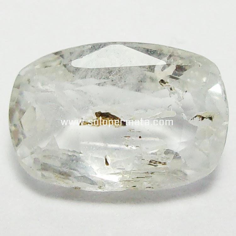 Batu Permata White Sapphire - 27A09