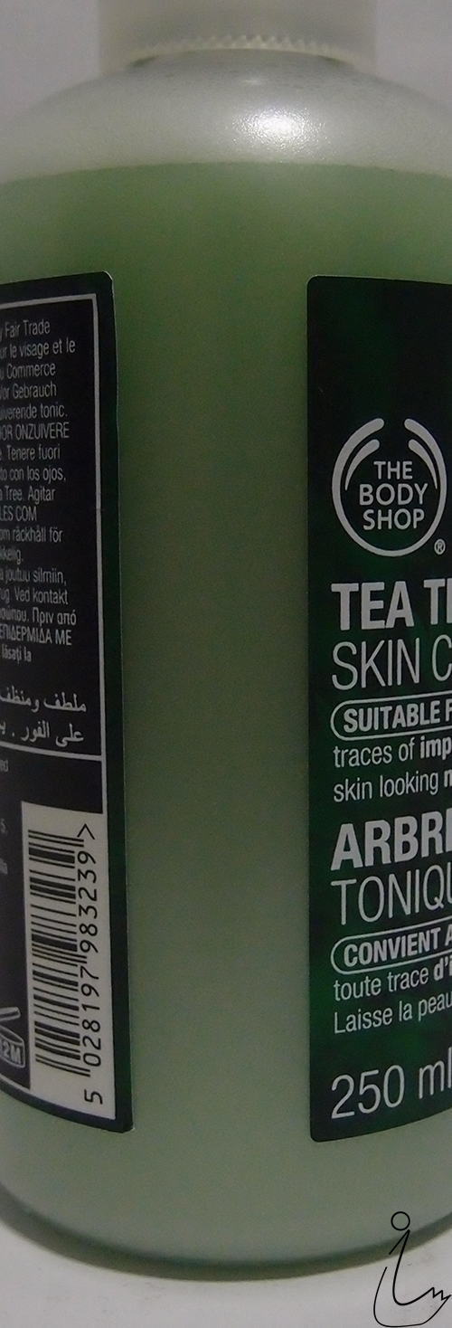 The Swanple Review The Body Shop Tea Tree Skin Clearing