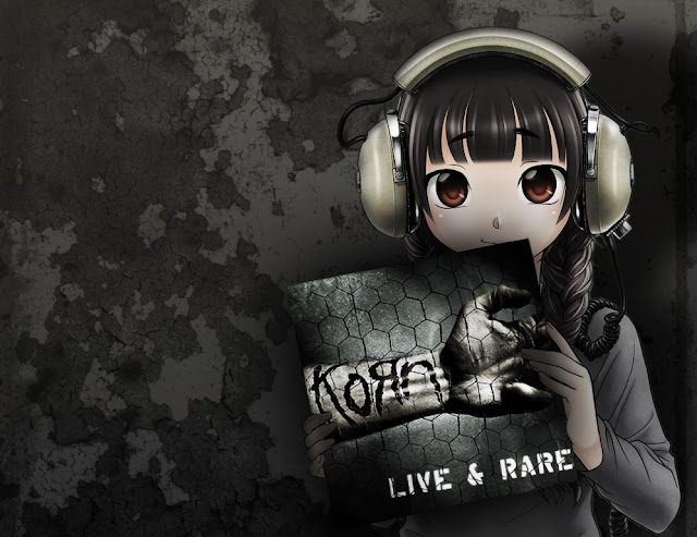 anime girl,korn anime,live and rare