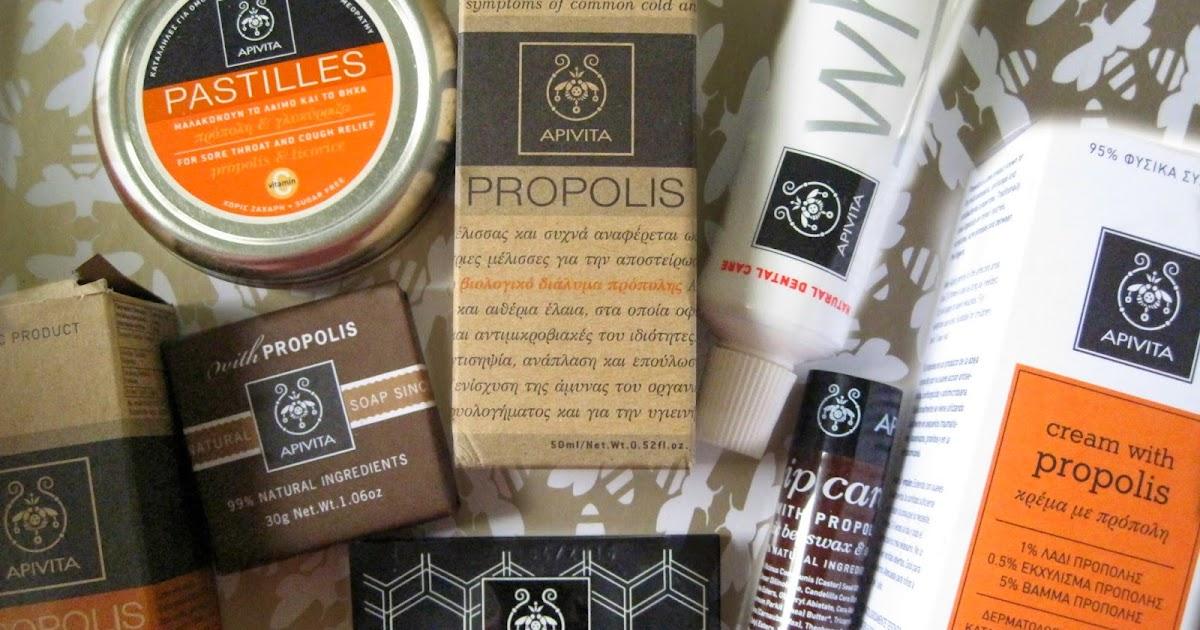 elena 39 s finds apivita propolis products. Black Bedroom Furniture Sets. Home Design Ideas