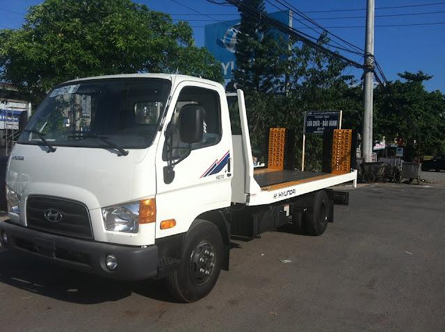 Xe cứu hộ giao thông hd72 hyundai 3.5 tấn.