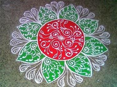 Kolam | Rangoli Kolam Design | Tamil Pongal Rangoli Kolam Free