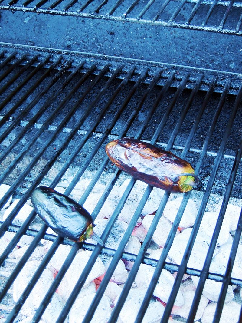 Grilled Ribeye Steaks with Roasted Jalapeno Chimichurri #SundaySupper ...