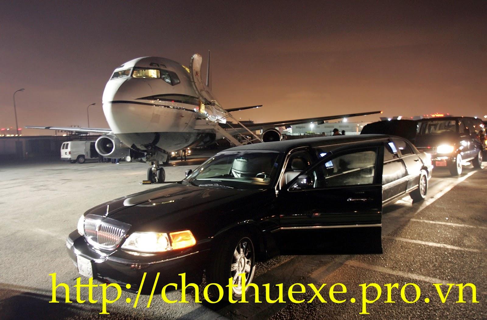 Cho thuê xe đưa đón sân bay tại Hà Nội dòng xe từ 4 đến 45 chỗ