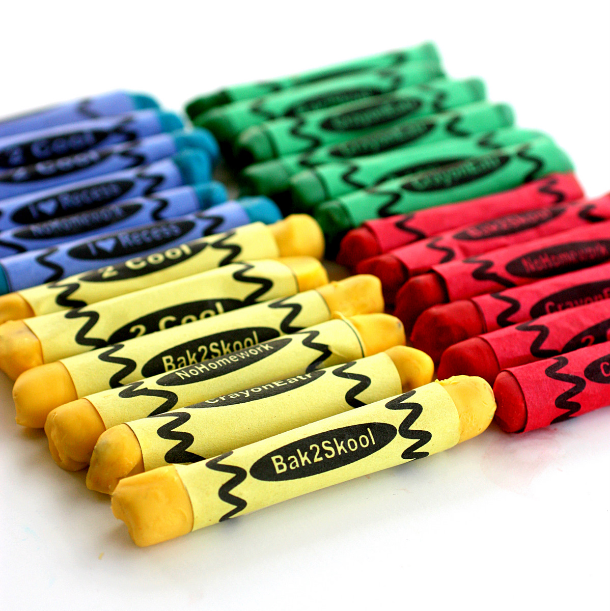 Edible chocolate pretzel dipped crayons snack teacher appreciation gift