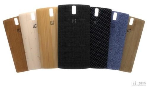 Tante cover personalizzabili con materiali diversi per OnePlus One