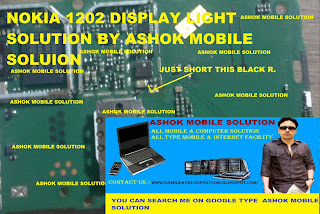 nokia 1202 new display light solution by ashok mobile solution for