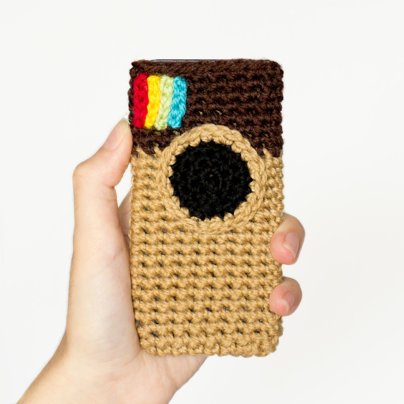 Free Crochet Pattern For I Phone Case : Hopeful Honey Craft, Crochet, Create: March 2014