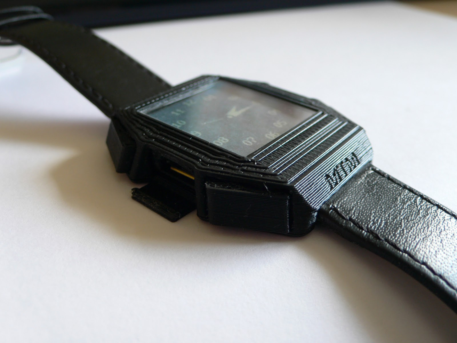 diy 3d printing open source watch with 3d printed case