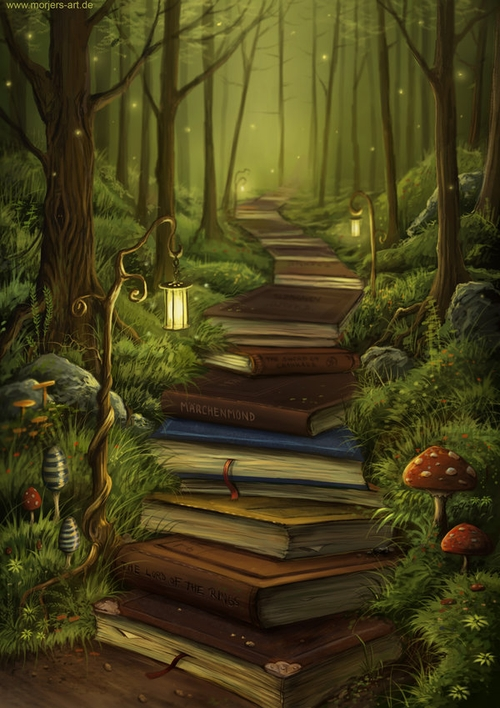 09-The-Reader-Path-Jeremiah-Morelli-Fantasy-Digital-Art-from-a-Middle-School-Teacher-www-designstack-co