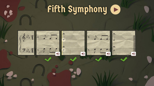 Google Doodles Beethoven's 245 Year Fifth Symphony