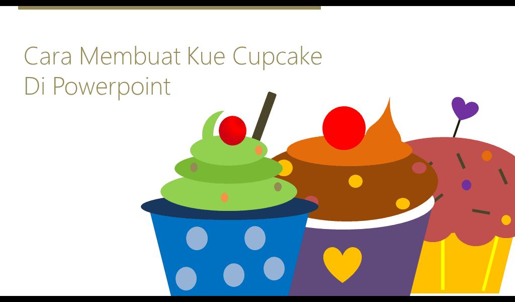 hiasan powerpoint, cupcake powerpoint