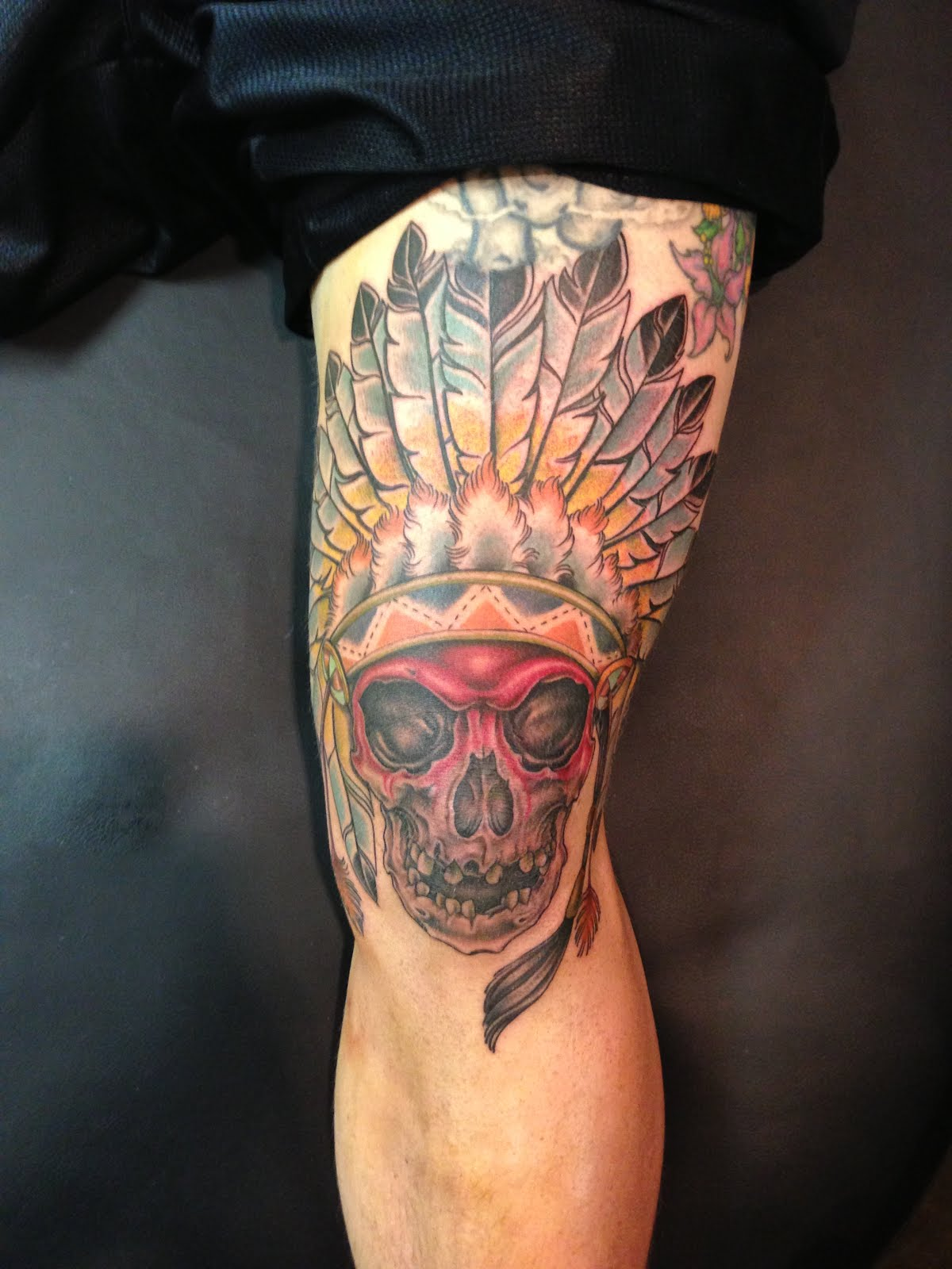 Knee Tattoo
