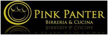 Pink panther logo birreria roma