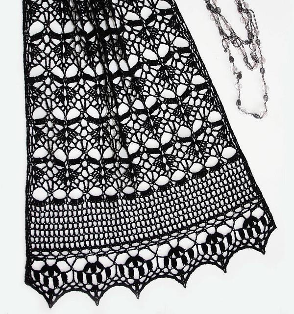 Crochet Shawls Crochet Wrap Pattern Midnight Wrap