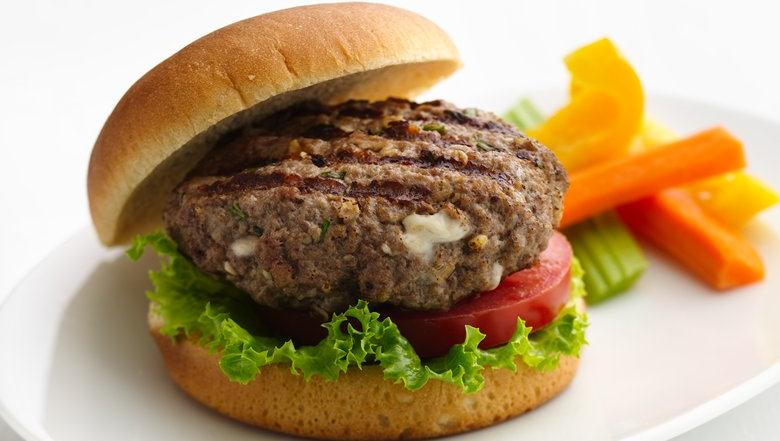 Coupon Clipping Moms: Blue Cheese Burgers