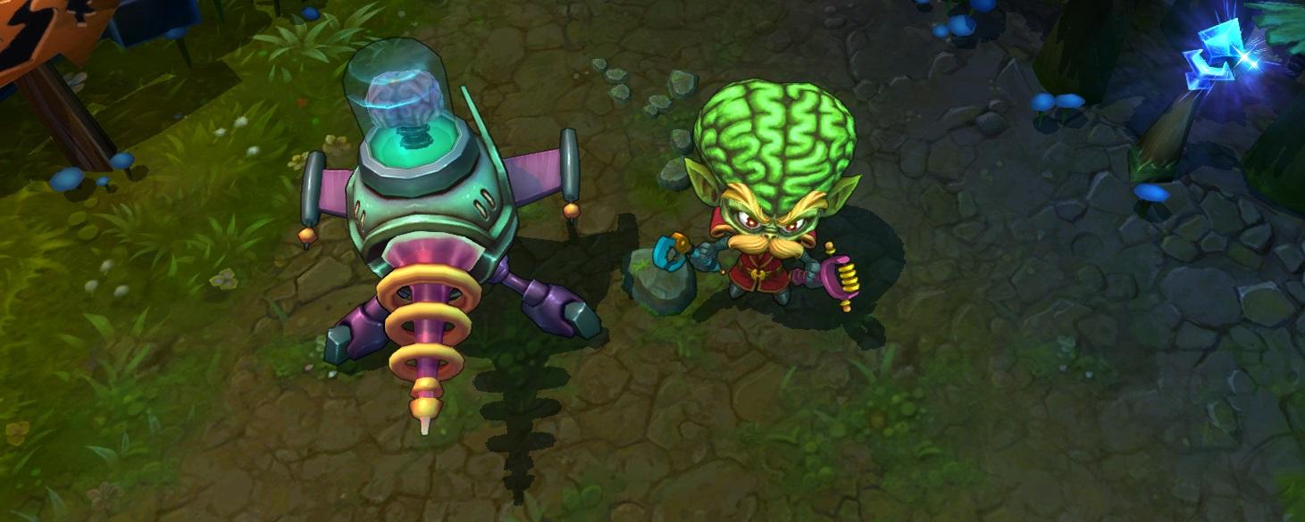 Heimerdinger alien invader skin