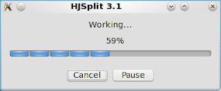 hjsplit, Cara Split File yang mudah