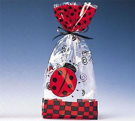 Ladybug Party Treat Bags