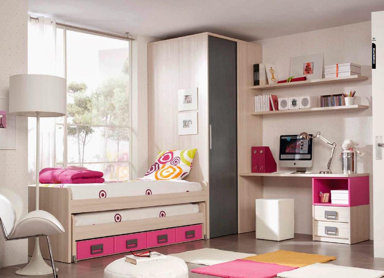 Soluções para Quartos pequenos Mobiliário para Jovens e  ~ Quarto Pequeno Juvenil