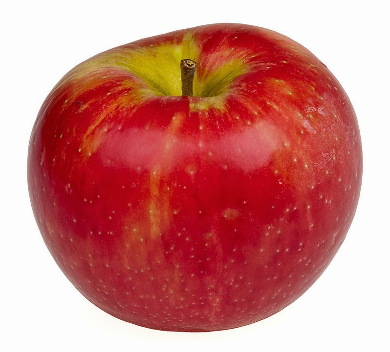 http://en.wikipedia.org/wiki/Honeycrisp#mediaviewer/File:Honeycrisp-Apple.jpg