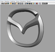 3D Challenge: Mazda Logo