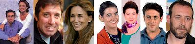 Antes y ahora Emilio Aragón, Lydia Bosch, Luisa Martín, Antonio Molero