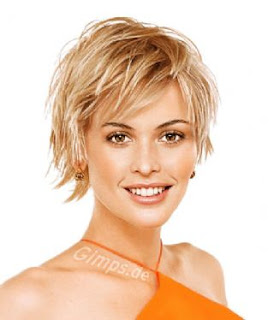short shag hairstyle